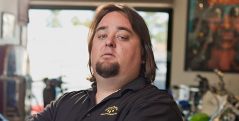 chumlee a character from history channel s reality show pawn stars is