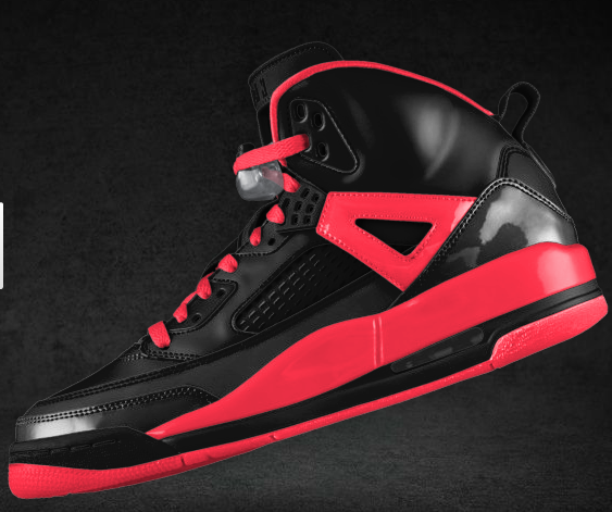 "golondrina en cualquier sitio Disfraz  Nike ID Spizike Custom – ""Infrared""   T.Blake"